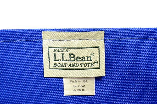 L.L.Bean / Canvas Tote Limited M / Trico4 Regatta Blue×Bittersweet×Navy L.L.ビーン / キャンバストート リミテッドM / トリコロール4
