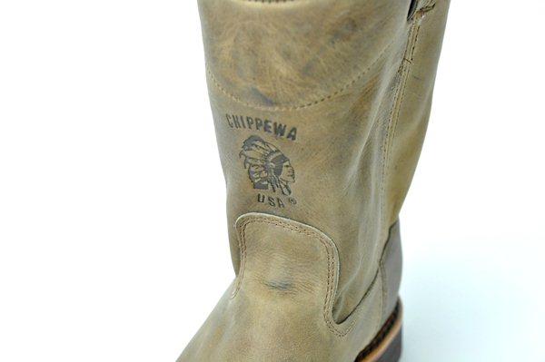 "Chippewa / 10"" Wellington Boots / Tan Rodeo  チペワ / 10インチウェリントンブーツ / タンロデオ 1"