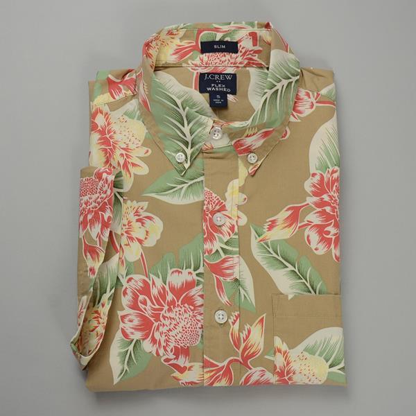"""】J.CREW / ジェイクルー / FLEXグラフィックSSシャツ""""SLIMFIT"""" / アーヴィンフローラル"""