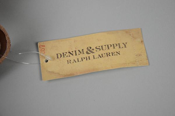 Denim&Suply Polo Ralph Lauren / デニム&サプライ ポロラルフローレン / キャンバス&レザー2WAYバッグ / ライトカーキ×ブラウン