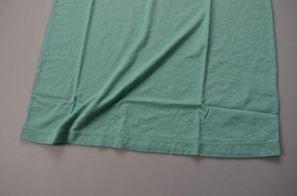 【AUTUMN SALE】J.CREW / ジェイクルー / ブロークンインVネックTシャツ / ヘザースペアミント