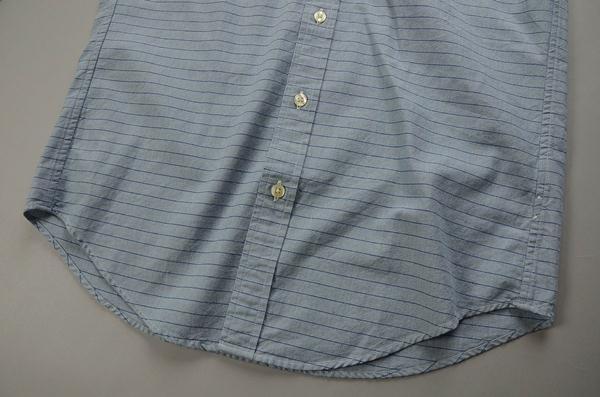 """【2021 SUMMER SALE】J.CREW / ジェイクルー / シャンブレーワンポケットシャツ""""SLIM FIT"""" / ストライプライトウォッシュインディゴ"""