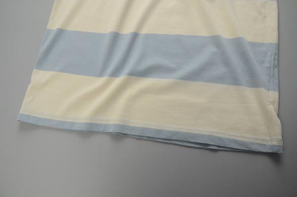 """【2021 SUMMER SALE】J.CREW / ジェイクルー / サーフストライプTシャツ """"SLIM FIT""""/ グレイッシュブルー×ウォッシュドサンド"""