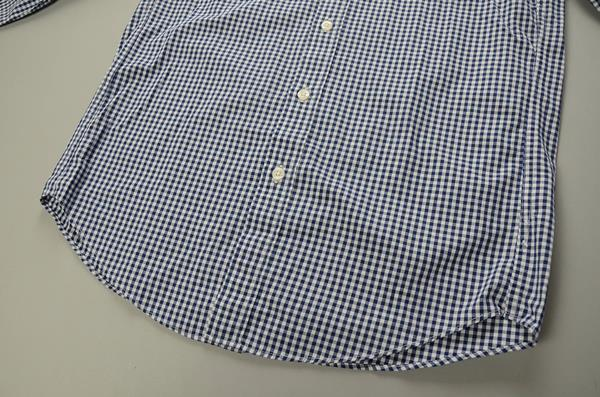 "】J.CREW / ジェイクルー / NEWウォッシュドボタンダウンシャツ""SLIM FIT"" / ネイビーギンガム"