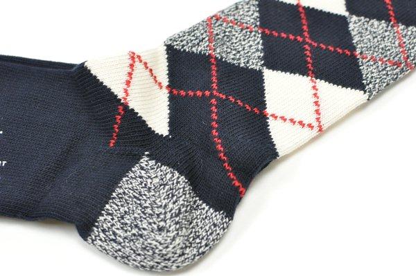 J.CREW / Argyle Socks / Vintage Nvay ジェイクルー / アーガイルソックス / ビンテージネイビー