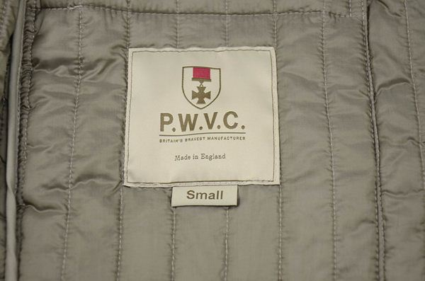 PRIVATE WHITE V.C / プライベートホワイトV.C / キルティングサーマルジャケット / カーキ