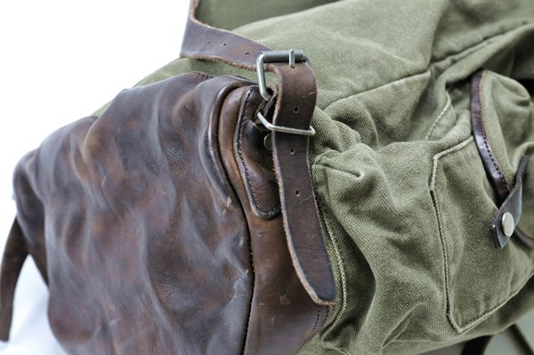 Rugby Ralph Lauren / Rugged Canvas Backpack / Olive ラグビー ラルフローレン / ラギッドキャンバスバックパック / オリーブ