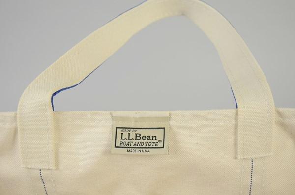 """【当店限定】L.L.Bean / L.L.ビーン / ボート&トート リミテッド""""FADE WASH"""" ラージ / フェイドブルー"""