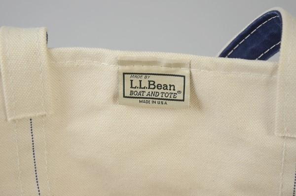 """【当店限定】L.L.Bean / L.L.ビーン / ボート&トート リミテッド""""FADE WASH"""" ラージ / フェイドネイビー"""