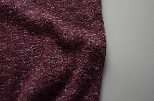 【AUTUMN SALE】J.CREW / ジェイクルー / ヘザーコットンクルーネックセーター / ヘザーカバーネット