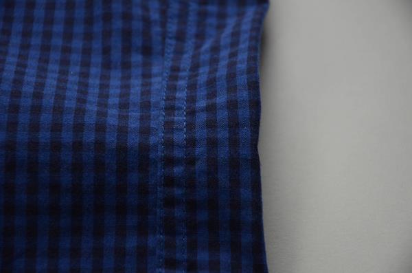 """【スーパープライス】J.CREW / ジェイクルー / NEWウォッシュドボタンダウンシャツ""""SLIM FIT"""" / インディゴネイビーミニギンガム"""