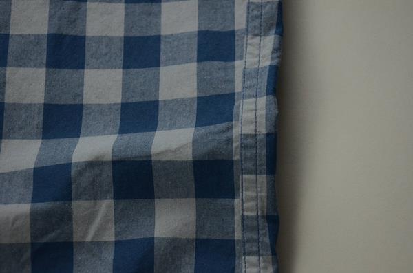 """【NEW YEAR SALE】J.CREW / ジェイクルー / NEWウォッシュドボタンダウンシャツ""""SLIM FIT"""" / ブルー×スモーキースレートギンガム"""