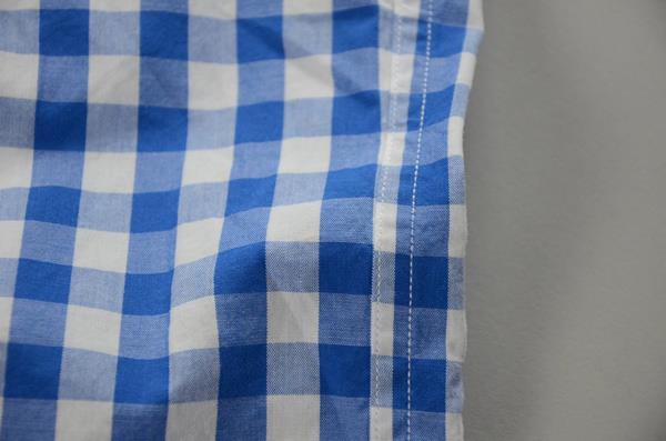 【スーパープライス】J.CREW / ジェイクルー / ウォッシュドボタンダウンシャツ / セルリアンブルー×ホワイトミディアムギンガム