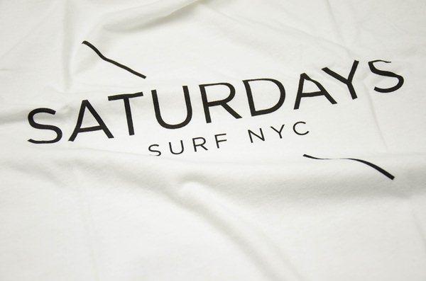 SATURDAYS SURF NYC / サタデーズサーフ ニューヨーク / サタデーズサーフ ロゴTee / ホワイト