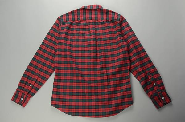 """J.CREW / ジェイクルー / FLEX ウォッシュドオックスフォード プラッドシャツ""""SLIM FIT"""" / レッドグリーンブラックチェック"""