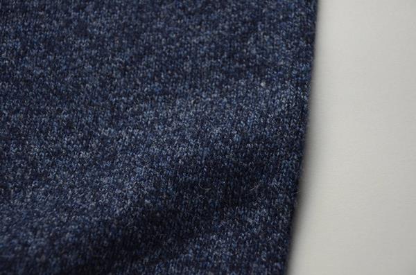 【AUTUMN SALE】J.CREW / ジェイクルー / マールドラムズウールクルーネックセーター / マールドインディゴ