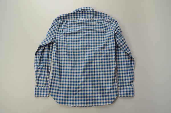 【CLEARANCE SALE】J.CREW / ジェイクルー / シークレットウォッシュ ファイネストプレミアムコットンシャツ / ブルー×グレーギンガム
