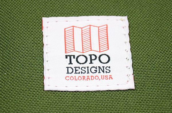 TOPO DESIGNS / Mini Mountain Bag / Olive トポデザインズ / マウンテンミニバッグ / オリーブ
