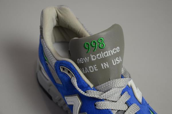 【期間限定SALE 12/6まで】J.CREW×NEW BALANCE / Made In USA NEW BALANCE 998 /  ジェイクルー / Made In USA ニューバランス 998 /  ウルトラマリン
