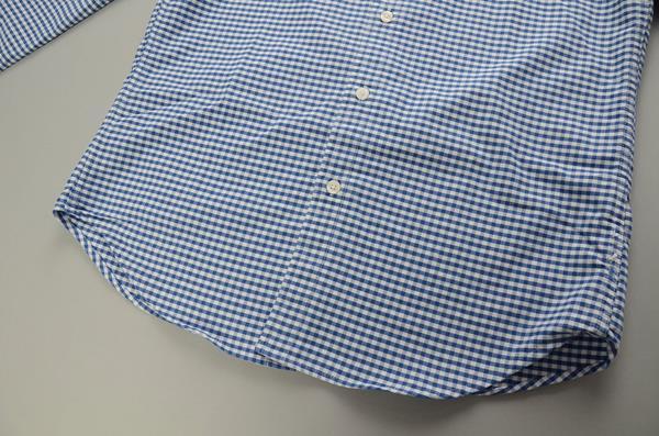 "】J.CREW / ジェイクルー / NEW ウォッシュド オックスフォードチェックB.Dシャツ""SLIM FIT"" / ブルーホワイトギンガム"