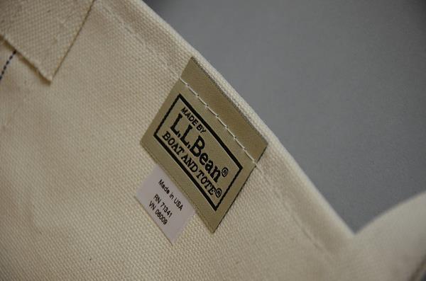 【FINAL SUMMER SALE】L.L.Bean / L.L.ビーン / キャンバストート U.S.A リミテッドM / シェルビーチ
