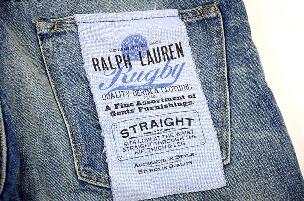 Rugby Ralph Lauren / ラグビー ラルフローレン / ストレートウォーンジーンズ / ウォーンインディゴ