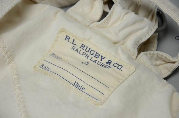 Rugby Ralph Lauren,ラグビー ラルフローレン / セイルクロスバックパック / レッド×ナチュラル