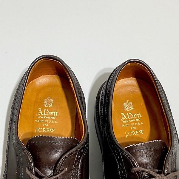 【USED】J.CREW ×Alden / ジェイクルー×オールデン / ロングウィング / ダークブラウン