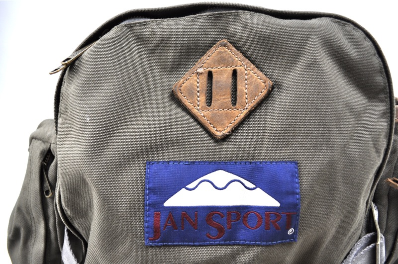 JANSPORT HERITAGE / Back Pack / Khaki×Brown Leather ジャンスポーツへリテージ / バックパック / カーキ×ブラウンレザー