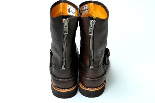 """Chippewa / 10"""" Bison Engineer Boots / Brown  チペワ / 10インチバイソンエンジニアブーツ / ブラウン 1"""