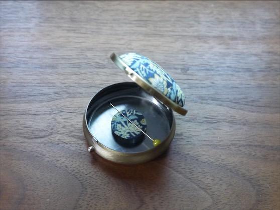 針山付きマグネット針ケース 0801-04