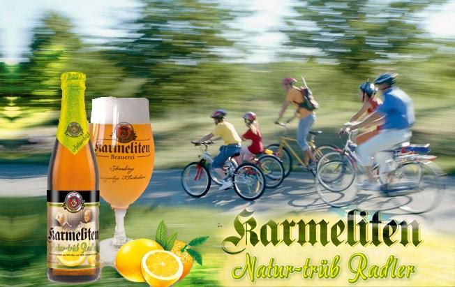 カーメリテンナチュアトリュープラドラー【ケース】 Karmeliten Natur-trüb Radler