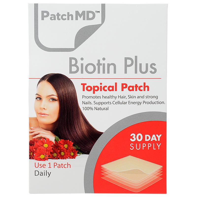 パッチMD・ビオチン PLUS(30パッチ入り・30日分)