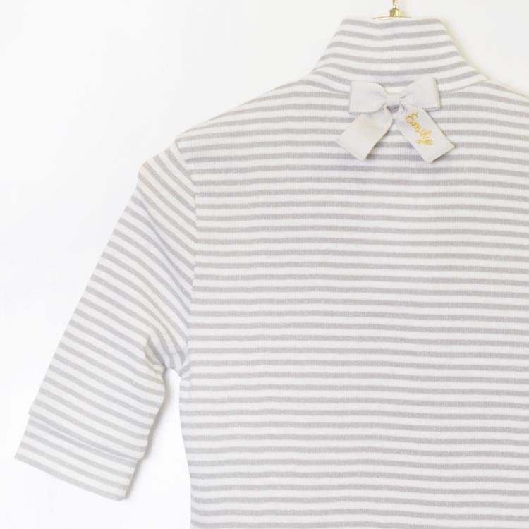 ラメボーダーインナー(Lame Border shirt)