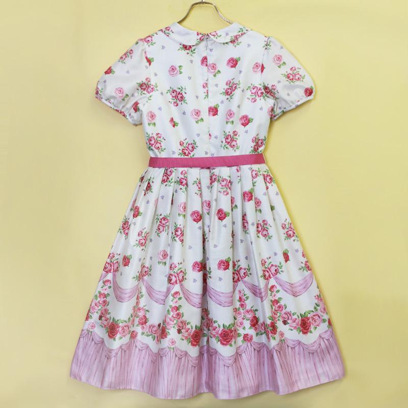 フリルROSEワンピース(Frill ROSE dress)