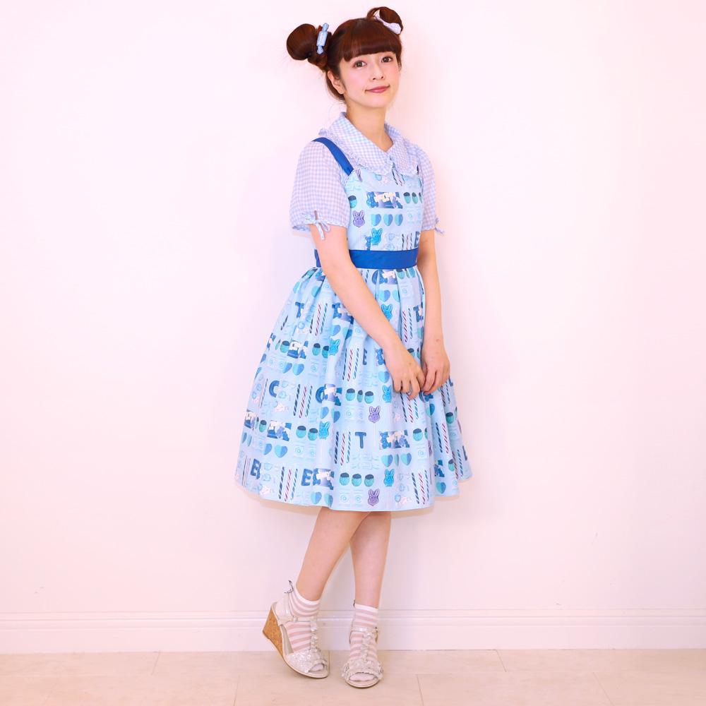 【 Reservation 】 pop'n CANDY ノースリーブワンピース (pop'n CANDY sleeveless dress)