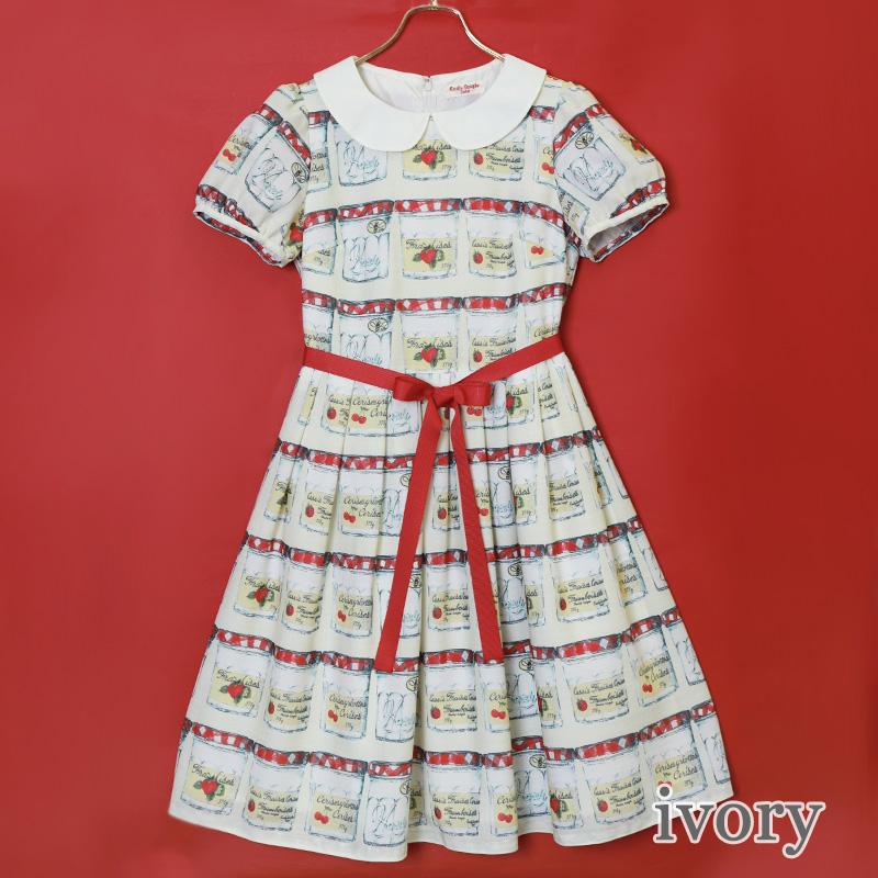 復刻JAM瓶 ワンピース(Revival JAM bottle dress)