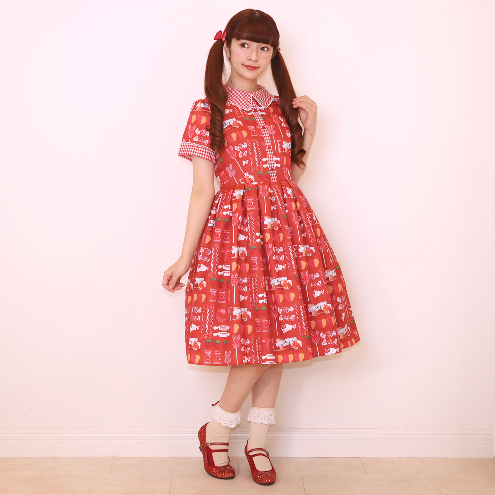 【 Reservation 】 pop'n CANDY ワンピース(pop'n CANDY dress)