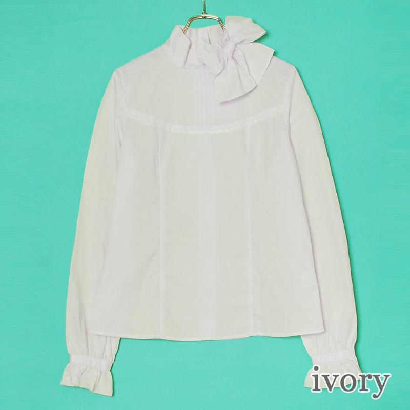 サイドリボンブラウス (side ribbon  blouse)