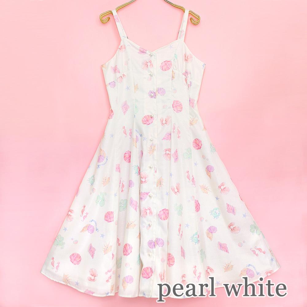 Mystical Seaフレアワンピース (Mystical Sea flare dress)
