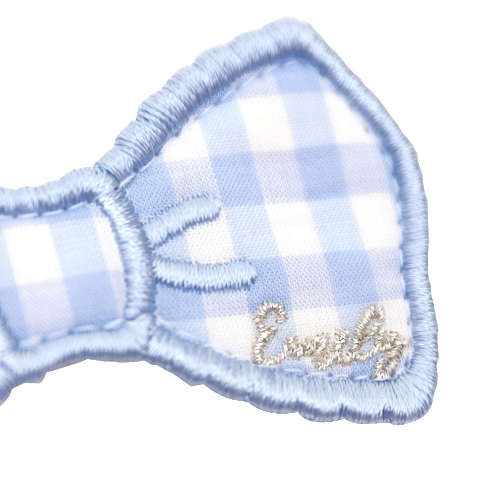 リボンワッペンクリップ(ribbon hair accessory)