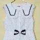 Sleepレースセーラーワンピース(Sleep lace sailor dress)