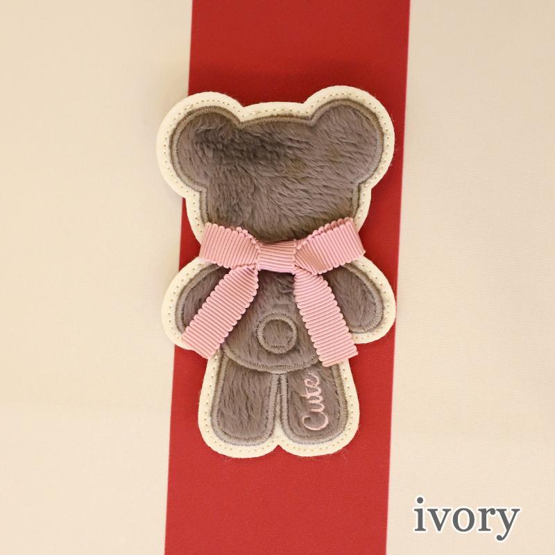 FluffyBearワッペン(FluffyBear brooch)