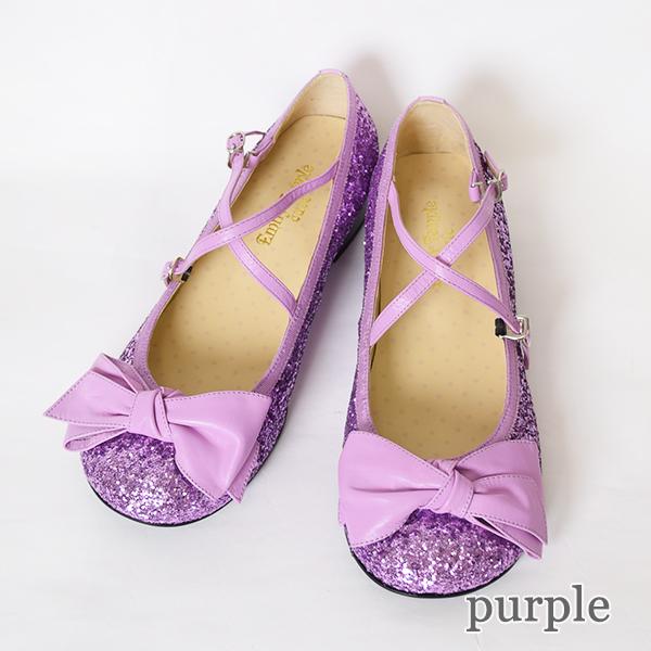 グリッターリボンシューズ (Glitter Ribbon Shoes)