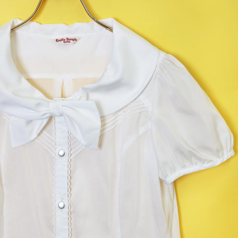 パティシエパフブラウス (Patissier puff blouse)