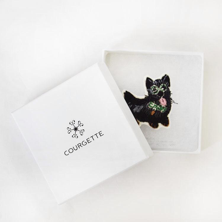 【Collaboration ITEM】愛犬 Toto バレッタ(Toto barrette)