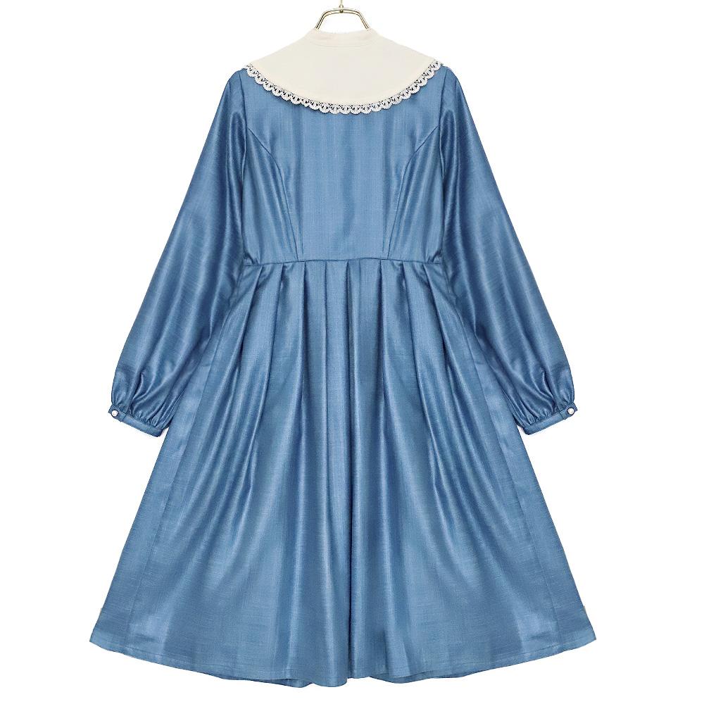 プリュムワンピース(plume dress)