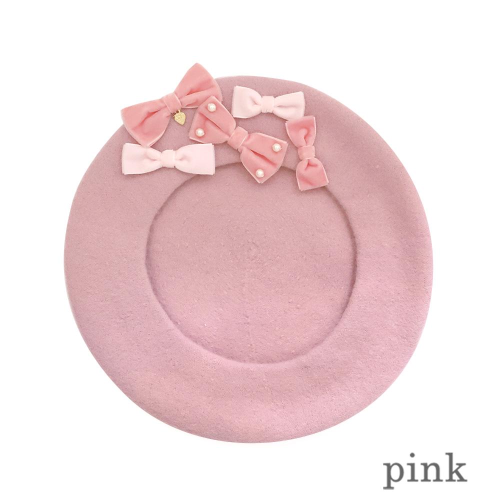 プチリボンベレー(petit ribbon beret)