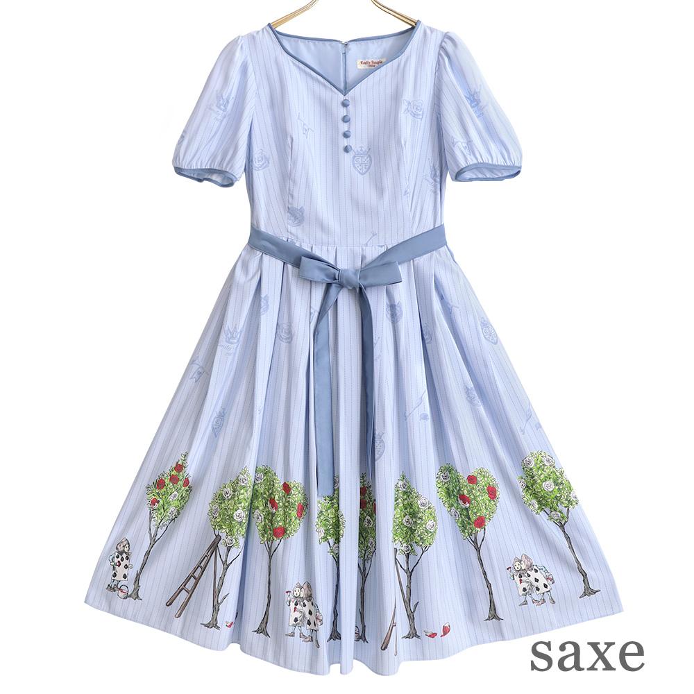 Painting Rose ワンピース(Painting Rose dress)
