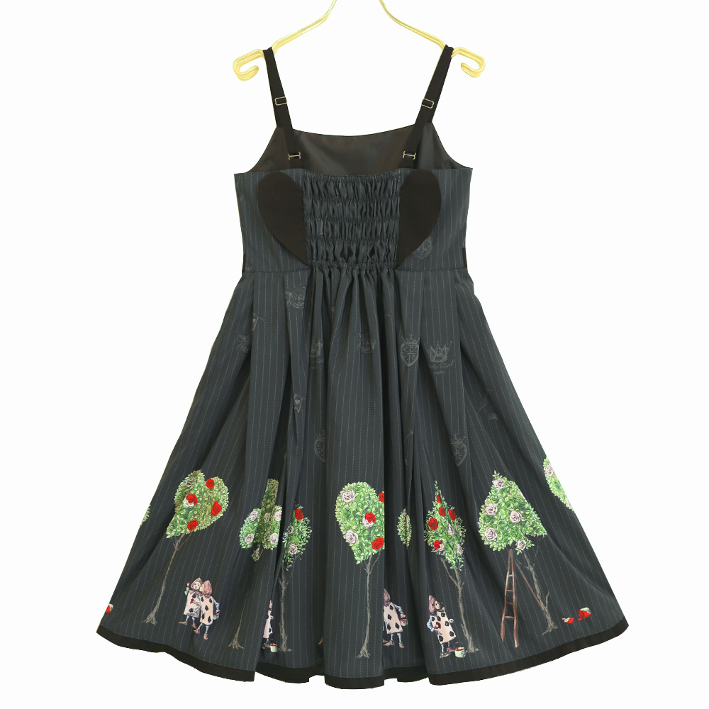 Painting Rose キャミソールワンピース(Painting Rose camisole dress)